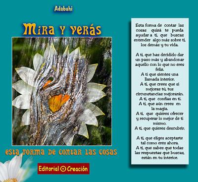 Presentación del libro «Mira y verás»